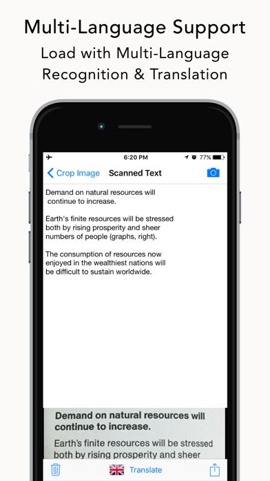 OpticText:文字認識 + オフライン翻訳のおすすめ画像4