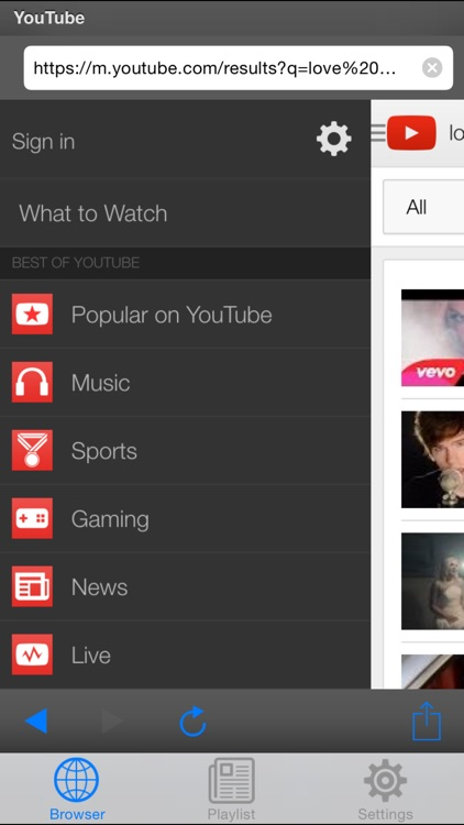 Yt Player - Player & Playlist for Youtube screenshot-1