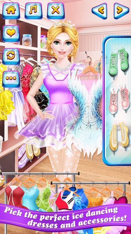 Ice Dancing Salon - World Skating Champion: SPA & Makeover Game for Kids screenshot-3