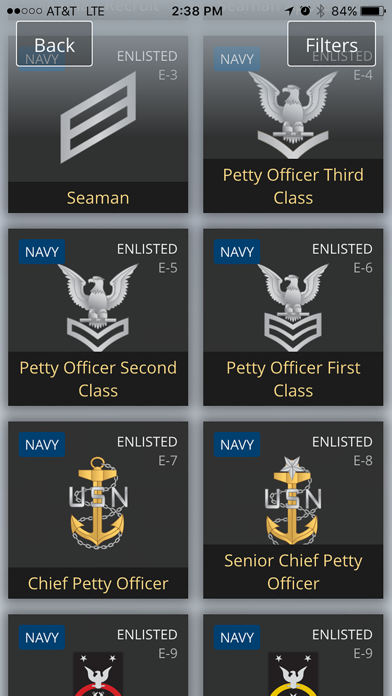 US Military Rank & Reference screenshot four
