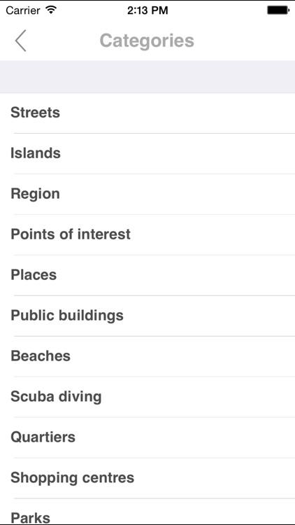 Bonaire. Road map screenshot-4