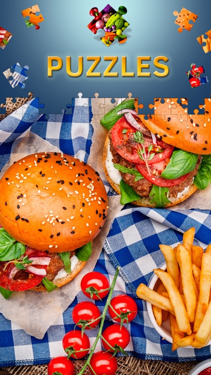Food Jigsaw Puzzles for Adults