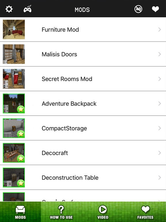 Screenshots of Furniture Mods FREE - Best Pocket Wiki & Tools for Minecraft PC Edition for iPad