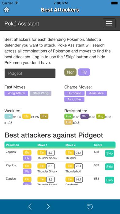 Poke Assistant for Pokemon Go - CP & IV Calculator,Best attacker,Evolver App-1