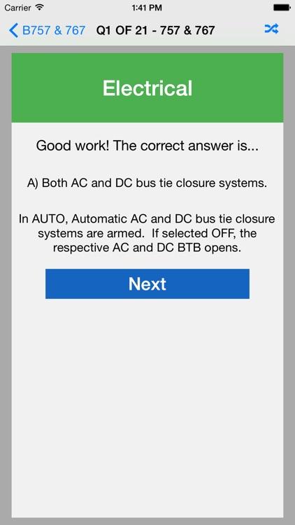 B757 / 767 Exam Questions