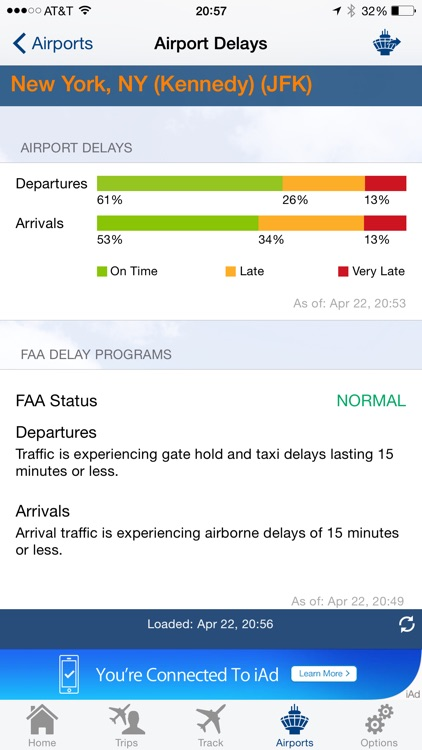 FlightView Free - Real-Time Flight Tracker and Airport Delay Status screenshot-4