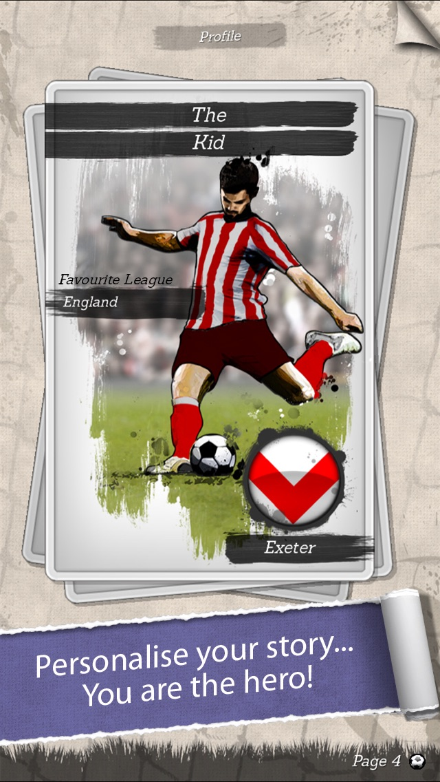 New Star Soccer G-Story Screenshot 1