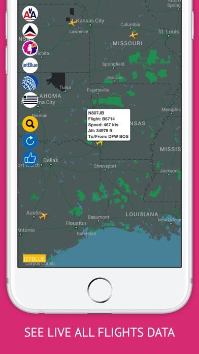USA Tracker PRO : Live Flight Tracking & Status-1