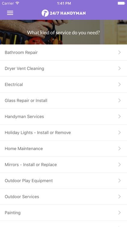 24/7 Handyman App - Find top handymen in your area by FEBA