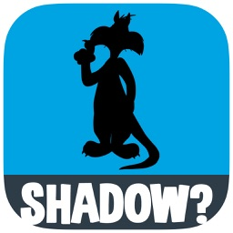 "Guess the Shadow - ""Famous Characters"" quiz free trivia puzzle game"
