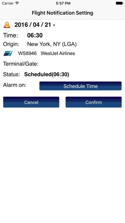 US New York LaGuardia Airport Flight Info