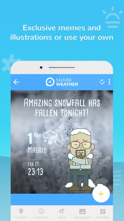 Share Weather - Create Forecast Memes screenshot-3