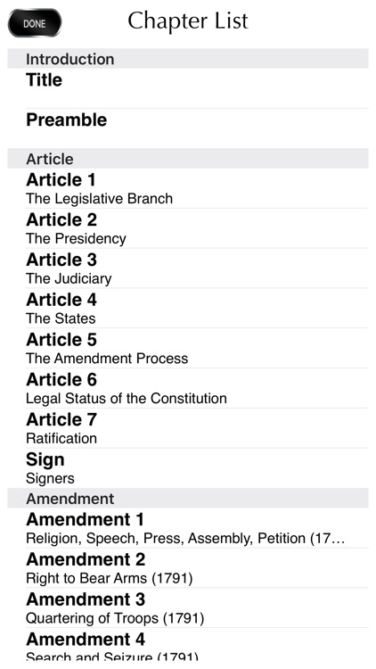 The Constitution Of USA screenshot-4