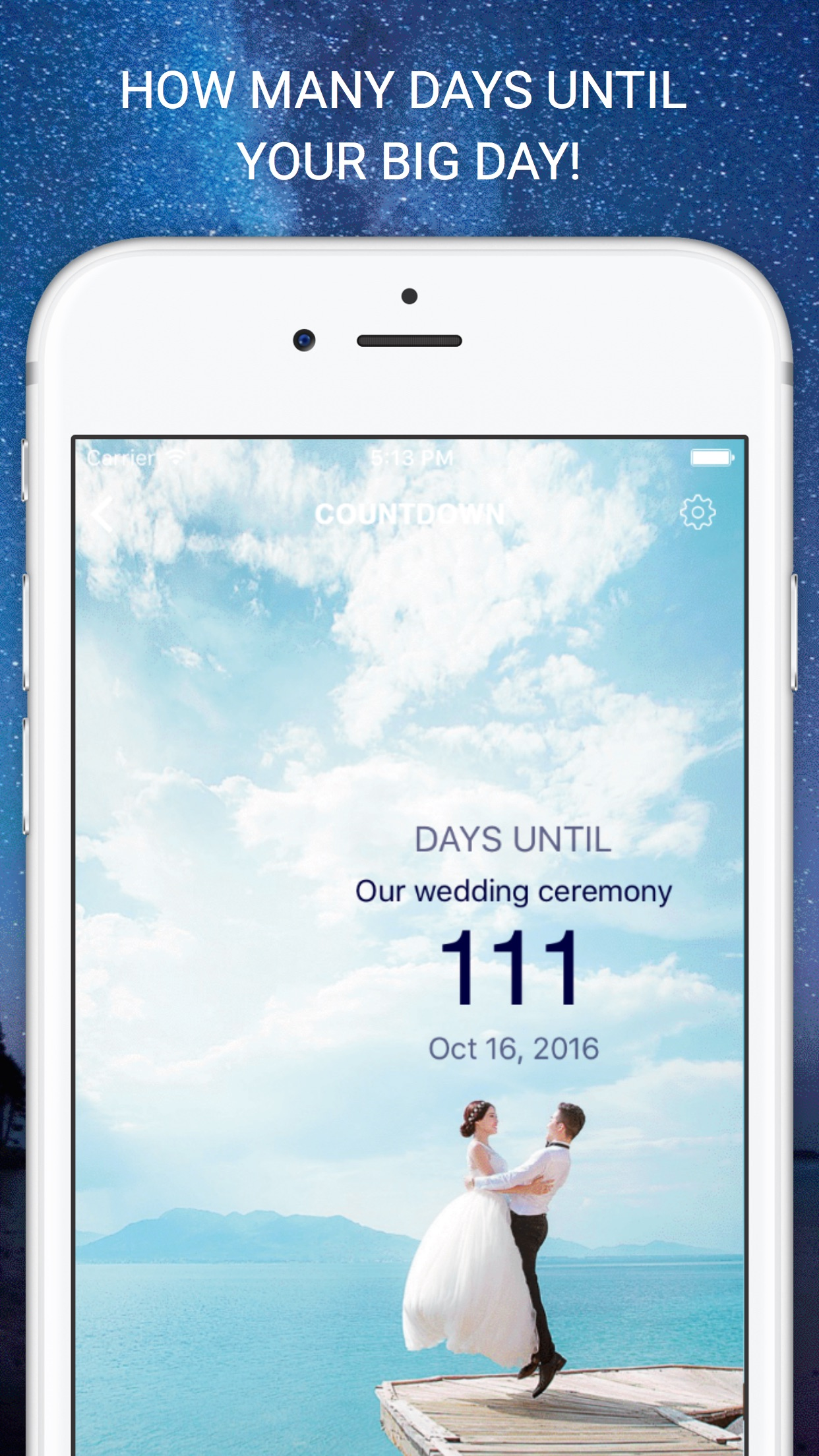 Countdown Timer - How Many Days Until or Days Since Calculator, Event Organizer, and Day counter Screenshot