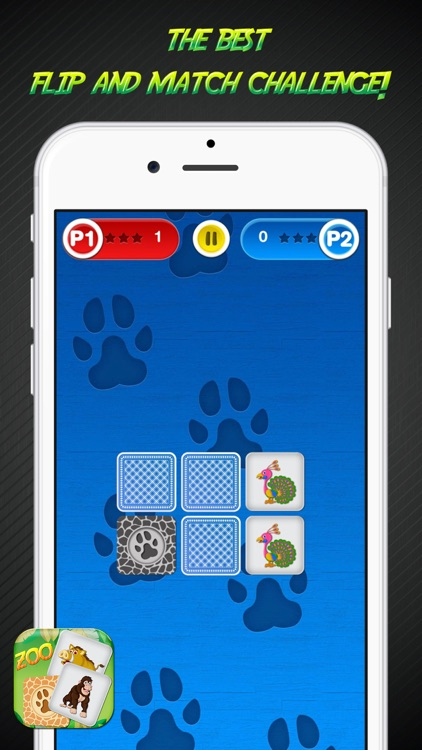 Zoo Memory Game – Animal Cards Matching Challenge for Learn.ing and Brain Train