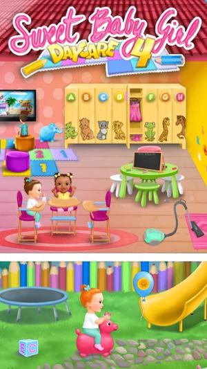 kindergarten babysitting game download