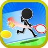 豪快ショット連発!ストレス発散テニスゲーム「エアK」