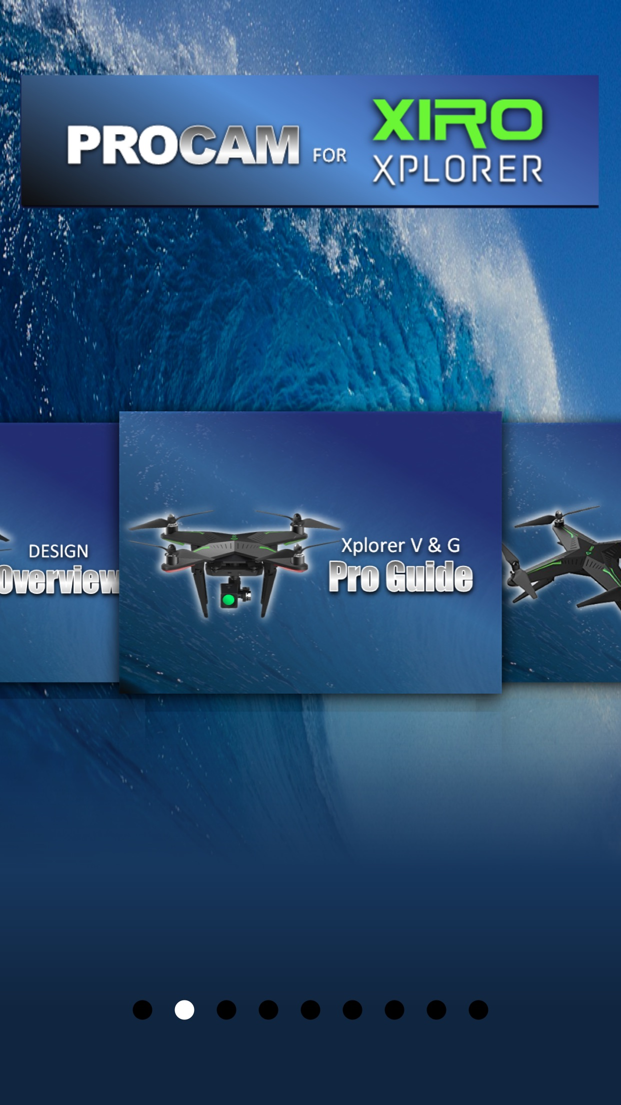 Procam for Xiro Xplorer Series Quadcopter Screenshot
