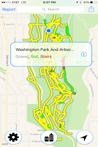 Seattle Trails screenshot 3
