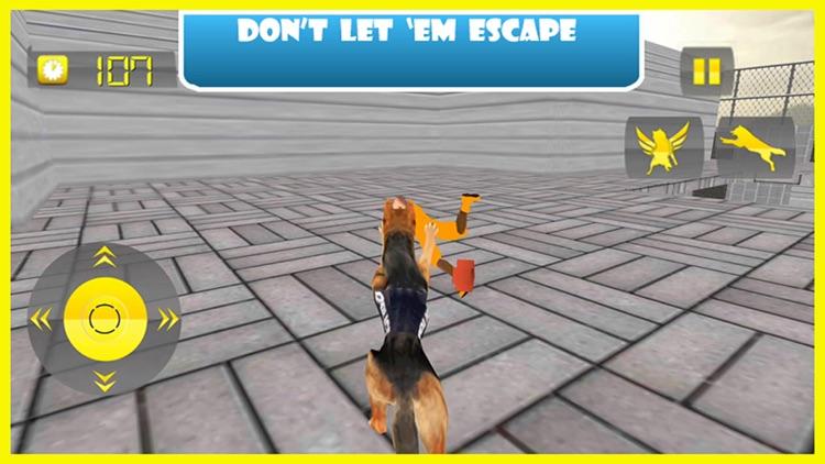 Flying Police Dog Prison Break - Prisoner Escape Jail Breakout Mission from Alcatraz screenshot-4