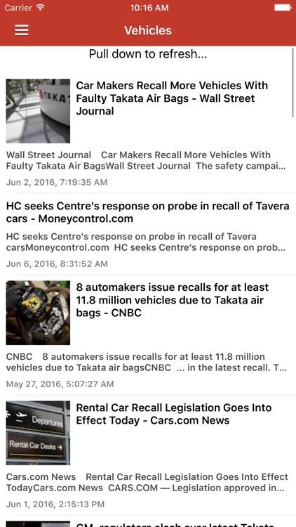 Recall Alert & Safety News Notification screenshot-3