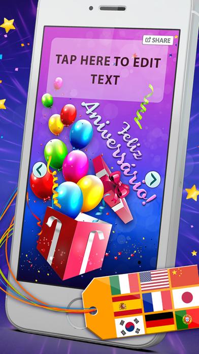 Télécharger Anniversaire Cartes Multilingue Gratuit E Card