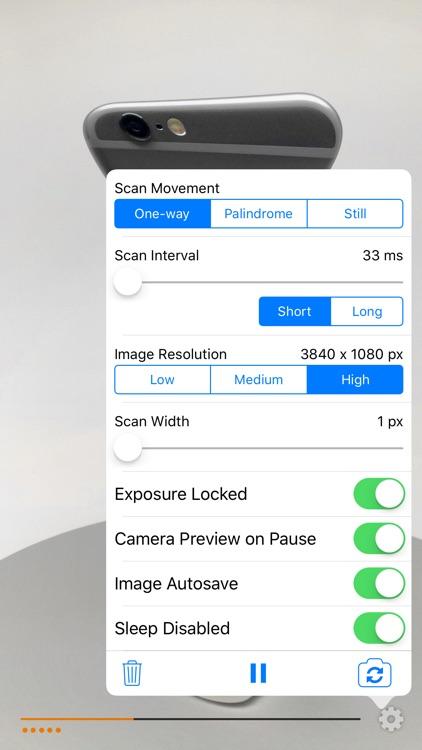 Timetracks - Slit-Scan Camera screenshot-3