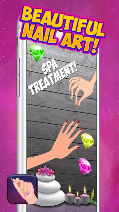 3d Nail Spa Salon Cute Manicure Designs And Makeup Games For