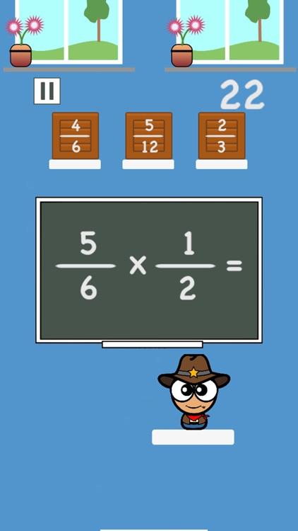 Math Academy - Fractions screenshot-4