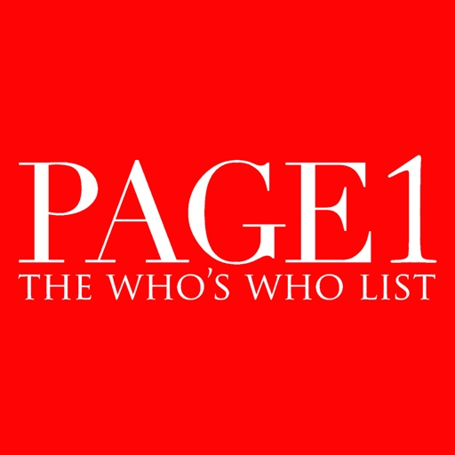 PAGE1 India Fashion Lists icon