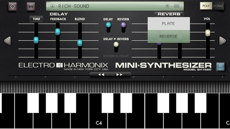 Mini Synthesizer for iPhone screenshot-3