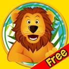 animais da selva fantástico para as crianças - jogo livre icon