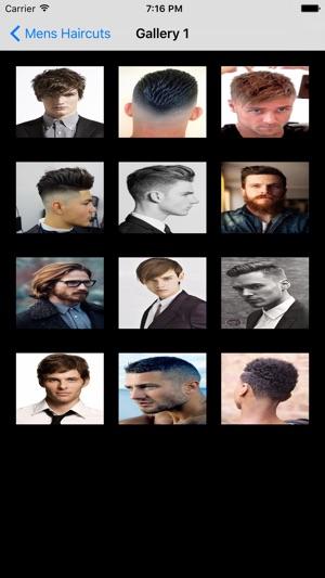 App taglio capelli uomo iphone