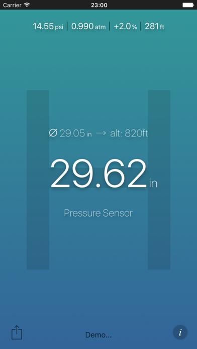 Air Pressure App