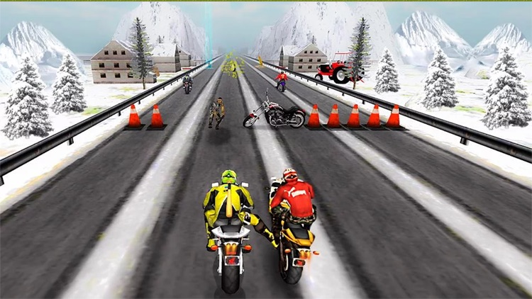 Bike Attack Race screenshot-4