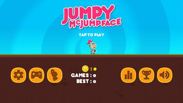 Jumpy McJumpFace