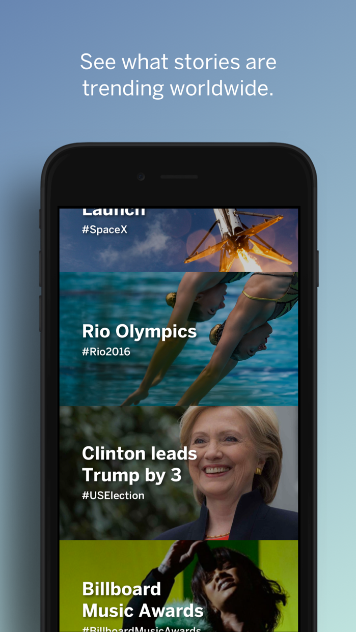 Hash – Today's Talking Points Screenshot