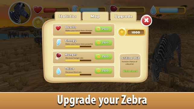 Zebra Simulator 3D Full Screenshot