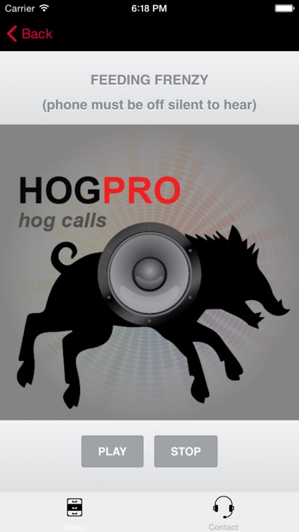 REAL Wild Hog Calls + Wild Boar Calls for Hunting BLUETOOTH COMPATIBLE screenshot-3