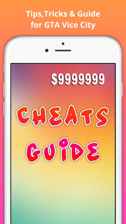Cheats for GTA vice city screenshot-0