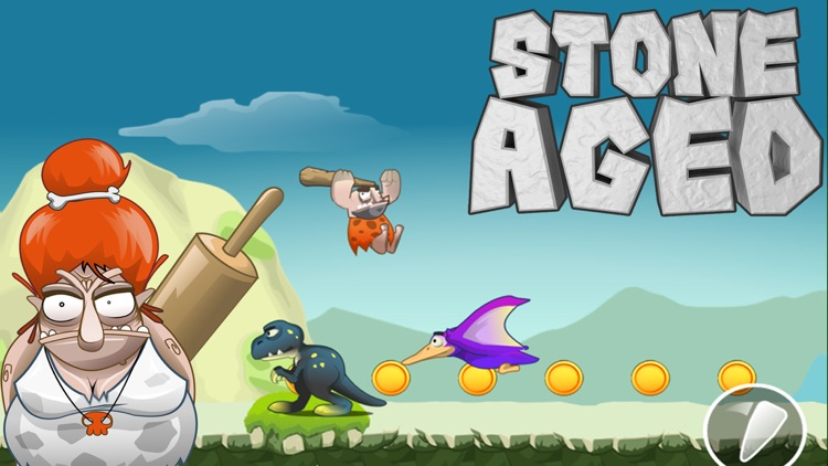 Stone Aged - Caveman Runner In Super Stone Age World