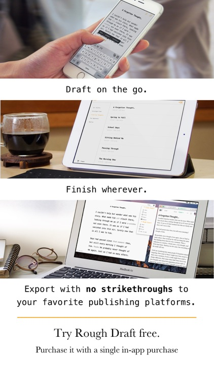 Rough Draft: Stop Editing and Just Write screenshot-3
