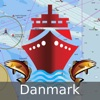 Marine Navigation - Denmark - Offline Gps Nautical Charts for Fishing, Sailing and Boating