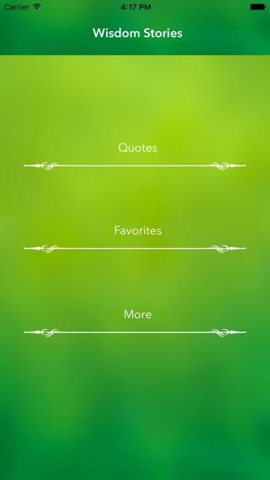 Wisdom Stories - The Best Stories screenshot three