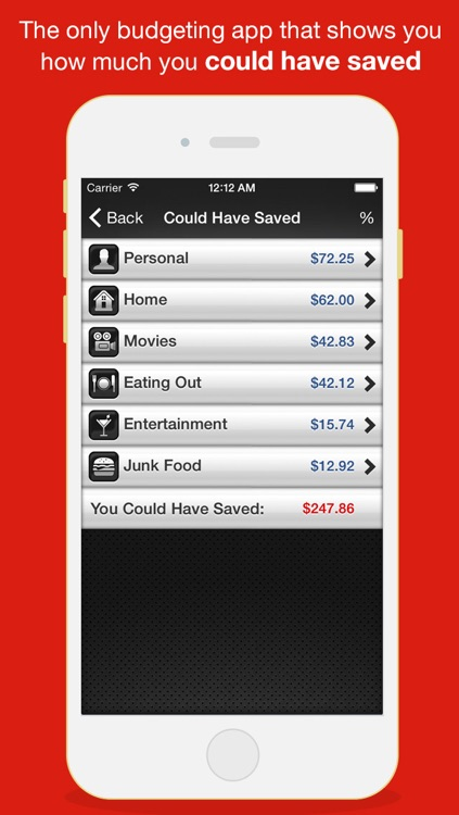 Budget Saved - Personal Finance and Money Management Mobile Bank Account Saving App
