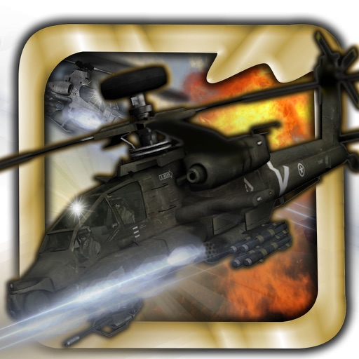 Amazing War Helicopter - Flaying Strike Race Skills icon