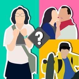 查看图像 Guess the Chinese Celebrity - Find the Difference Photo Quiz Game Free