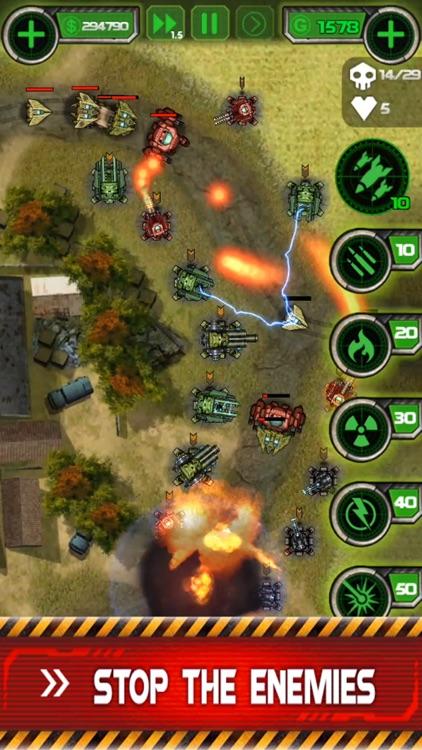 Tower Defense - Civil War screenshot-4