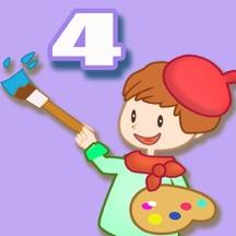 天才小画家 4 - 宝宝 幼儿 儿童给蛋糕涂色