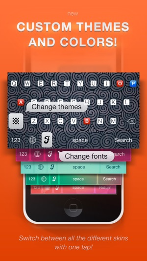 Textizer Font Keyboards Free - Fancy Keyboard themes with